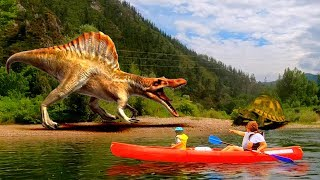 THE RIVER OF DINOSAURS, another adventure of dani and evan