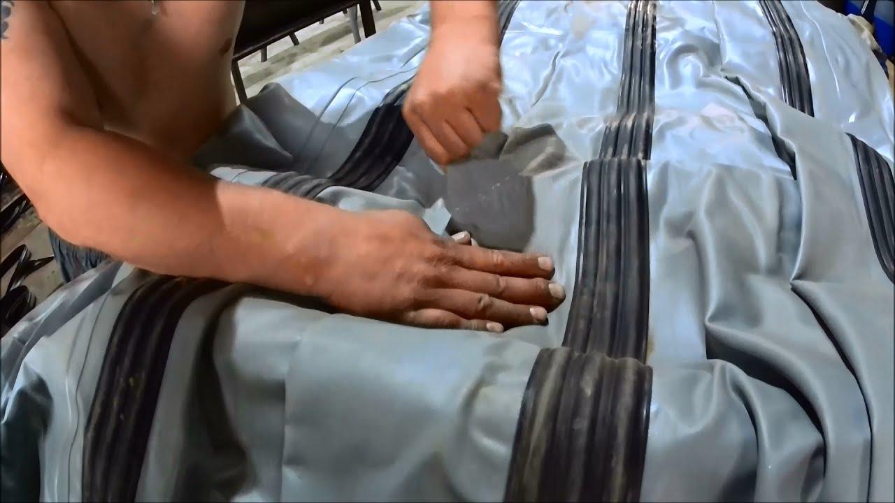 Ремонт шва лодки пвх своими руками 159