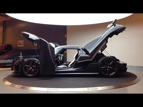 Ultra HD 4K Clearcoated Koenigsegg Agera R in detail- presented by Samsung