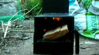 smallest Rocket stove you can buy. DK rocket stove