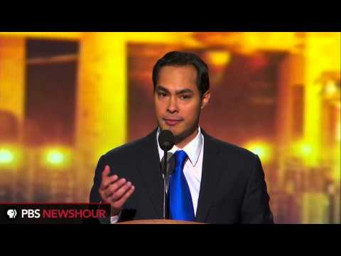 San Antonio Mayor Julián Castro: 'Opportunity Today, Prosperity Tomorrow.'