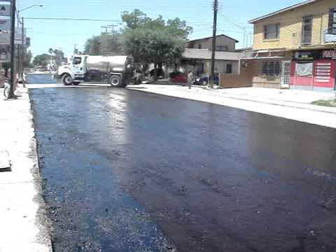 Riego de impregnacion asfaltica youtube for Aspersores para riego de jardin