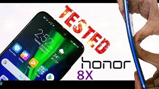 Honor 8x Durability Test- Did it Fail?  (Unboxing | Initial Review |Camera Vs Realme 2 Pro)