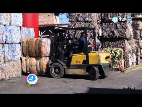 Científicos Industria Argentina - Recicladora de plástico - 04-10-14