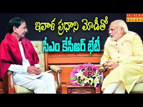 CM KCR to meet PM MODI today regarding Early Elections | Raj News