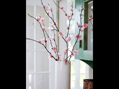 Весенний декор дома. Весенние композиции из веток.