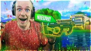 OWNEN MET DE O.P. LEGENDARY SMG - Gefeliciteerd Fortnite 🎂