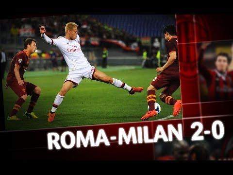 AC Milan | Roma-Milan 2-0 Highlights