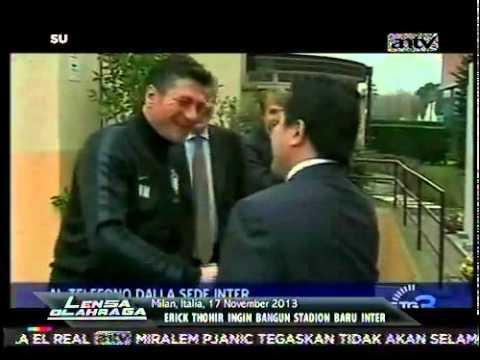 Erick Thohir Ingin Bangun Stadion Baru Inter Milan