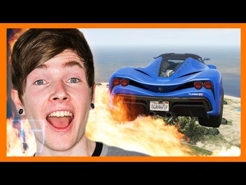 DanTDM - GTAV: Speed Run Challenge   Legends of Gaming