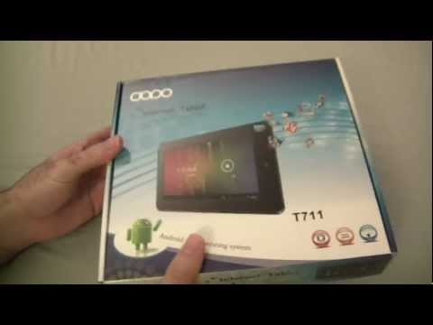 Unboxing of the Double Power (DOPO) T-711 Android Tablet
