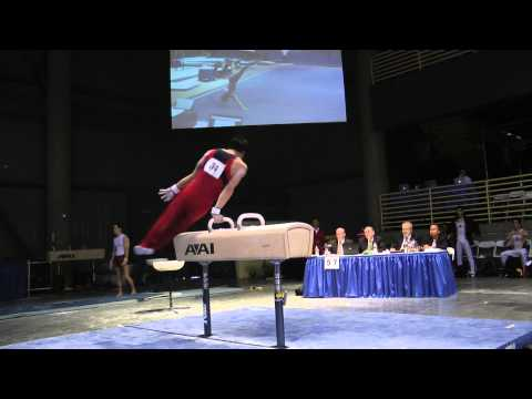 Glen Ishino - Pommel Horse - 2012 Winter Cup Prelims 15.65!