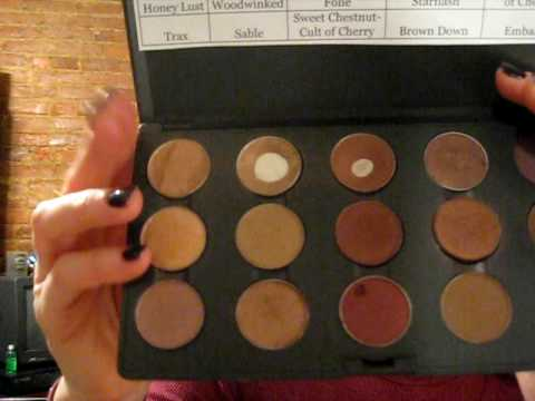 Overview of MAC Eyeshadow Palettes