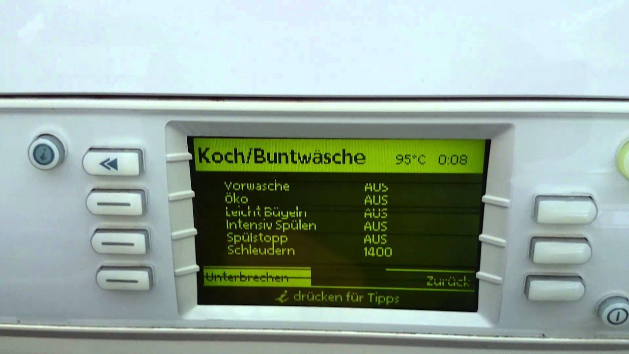 bauknecht wal 10788 waschmaschine youtube. Black Bedroom Furniture Sets. Home Design Ideas