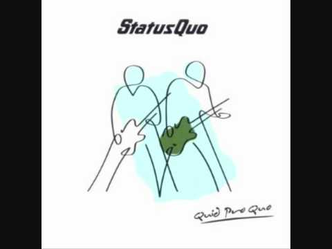 Status Quo - Cant See For Looking