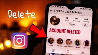 How to Delete Instagram Account Permanently ? 2019