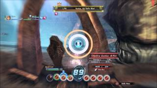 Xenoblade X - Vortice - Solo on foot - Knife/Multigun