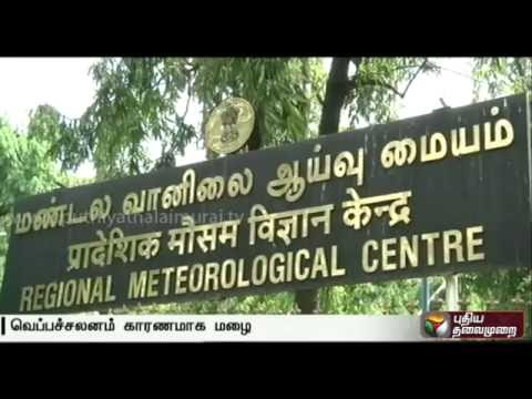 Chances of rain in parts of Tamilnadu and Puducherry due to heat convection
