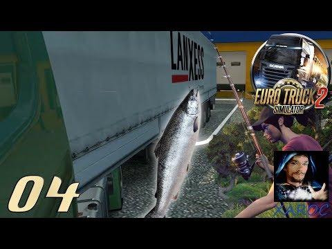 """Euro Truck Simulator 2 """"Thema:Angeln und Tiere"""" #04 DEUTSCH"""