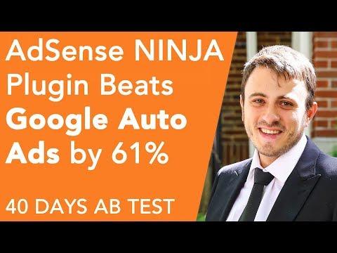 AdSense Ninja vs. Google Auto Ads [61% Boost in Revenue] 40 Day Experiment