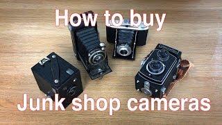 Buying a junk shop camera
