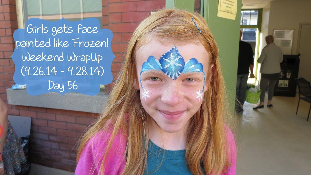 Face Painting Anna Frozen Frozen Face Paint Weekend