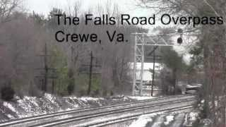 Southern 630 Steam Train Chase From Disputanta to Crewe, Virginia