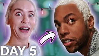 i ruined his hair (bleaching disaster)