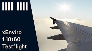 xEnviro 1.10t60 flight test