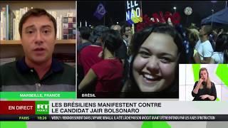 Romain Migus fait le point sur la présidentielle au Brésil