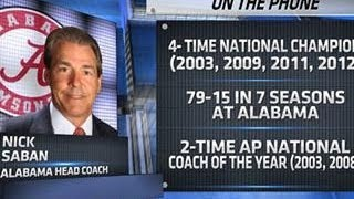 Nick Saban talks Alabama recruiting