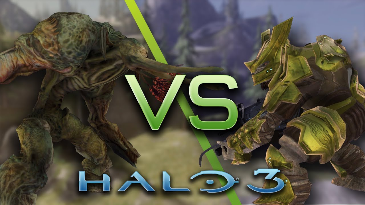 Halo Prometheans vs Flood Halo 3 ai Battle Flood