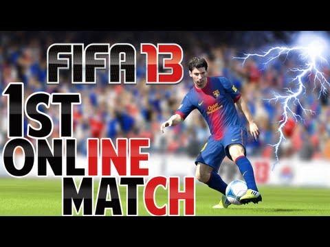 FIFA 13 - Primeira Partida ONLINE -  Man United x Chelsea // PT-BR (Thiago e Caio)