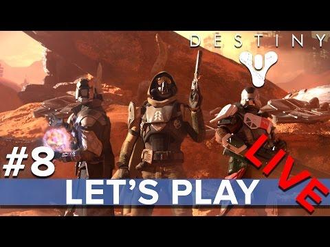 Destiny #8 PS4 Vanguard Strike Eurogamer Lets Play LIVE