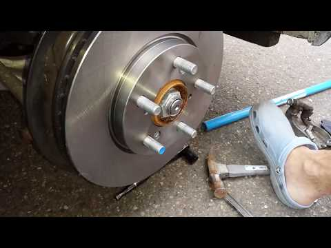 How to change breaks on Honda Odyssey 2010, 2009, 2008, 2007,2006, 2005 part 1