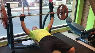 Bench pressing 70kg