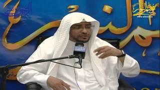 محاضرة للشيخ صالح المغامسي في مخيم النور بتاريخ 11ـ12ـ1435