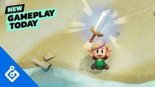 New Gameplay Today – The Legend of Zelda: Link's Awakening