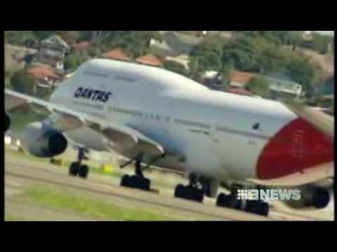 CH9: 1000 job loss at Qantas - a fail of its national responsibility