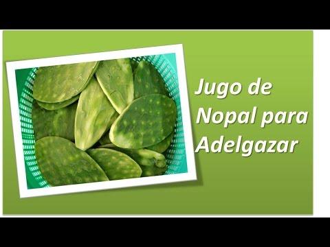 Tips Jugo Nopal para Adelgazar