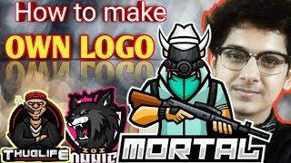 How to make mascot logo like soul mortal on Android phone Free HD 720p