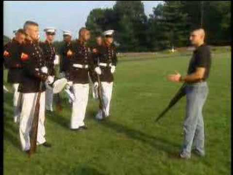 Honor &amp; Glory: Marine Silent Drill Team