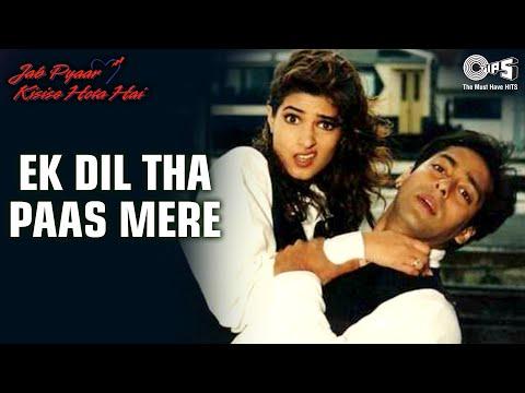 Ek Dil Tha Paas Mere - Jab Pyar Kisise Hota Hai - Salman Khan, Twinkle Khanna