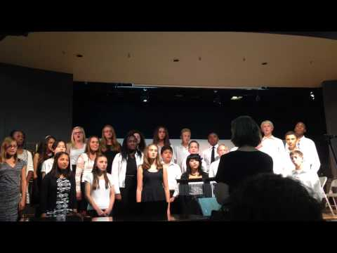 Valley Christian Middle School Choir Oct 27, 2014