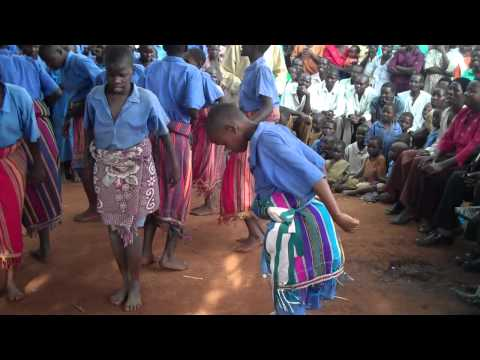 Primary School Girls Dancing In Buwaiswa, Uganda video