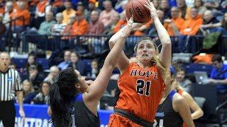 Hope vs MacMurray - D3 Women's Basketball