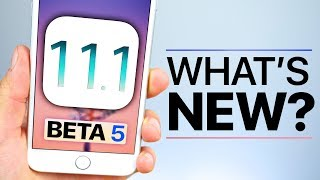 iOS 11.1 Beta 5 Released! What