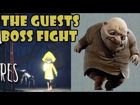 Little Nightmares - The Guests - Bosses Fight | Gameplay (HD) [1080p60FPS]