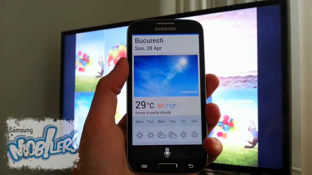 Samsung Galaxy S4 S Voice Drive