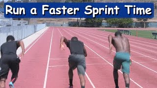 How to Run a Faster 100m Sprint! Track Workout